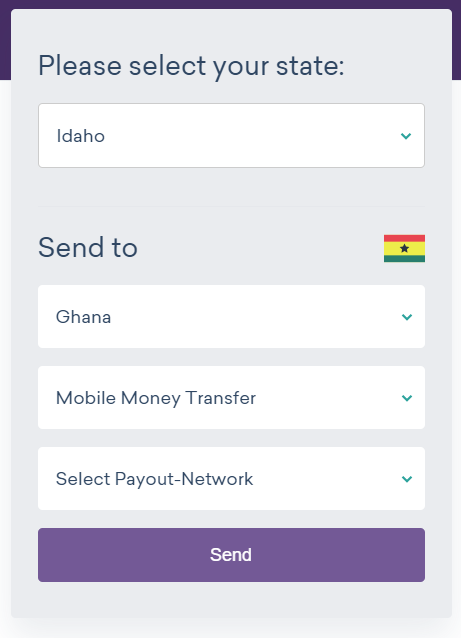 send money to Ghana with Worldremit 2