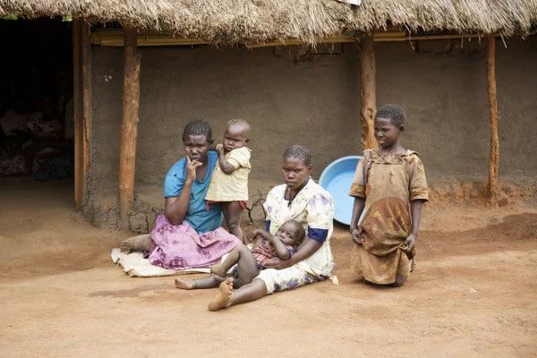 Mobile money helps African refugee family